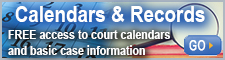 Easy access to court calendars (dockets)