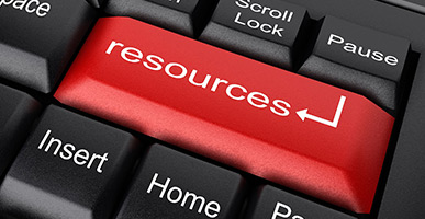 Key on keyboard that says Resources