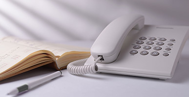 telephone and phone book