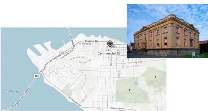 Map And Picture Of Courthouse