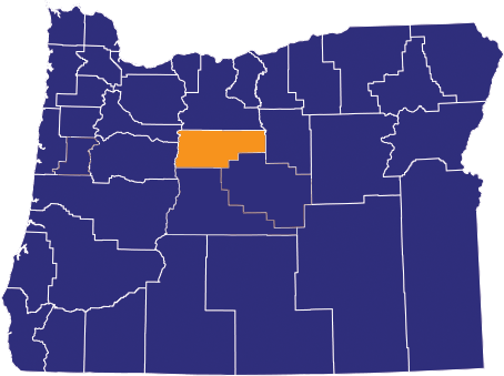 Map highlighting Jefferson County