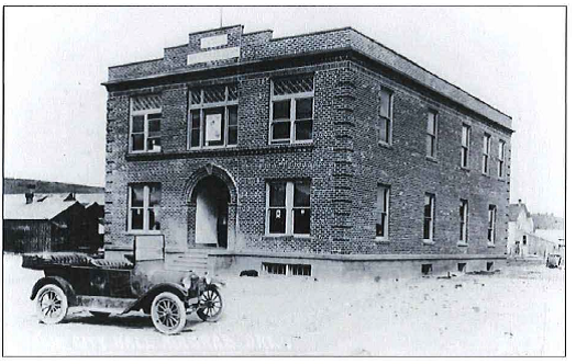 Jefferson Courthouse in 1917